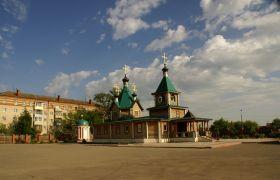 Сергиевский храм города Воскресенска, 2006 г.