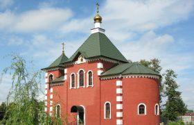 Введенский храм поселок Хорлово, 2007 г.