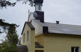 Пантелеимоновский храм города Воскресенска, 2005 г.
