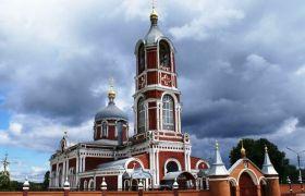 Воскресенский храм села Воскресенское, 1891 г.
